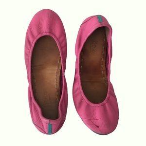 Tieks Fushia Pink Ballet Flats Size 7
